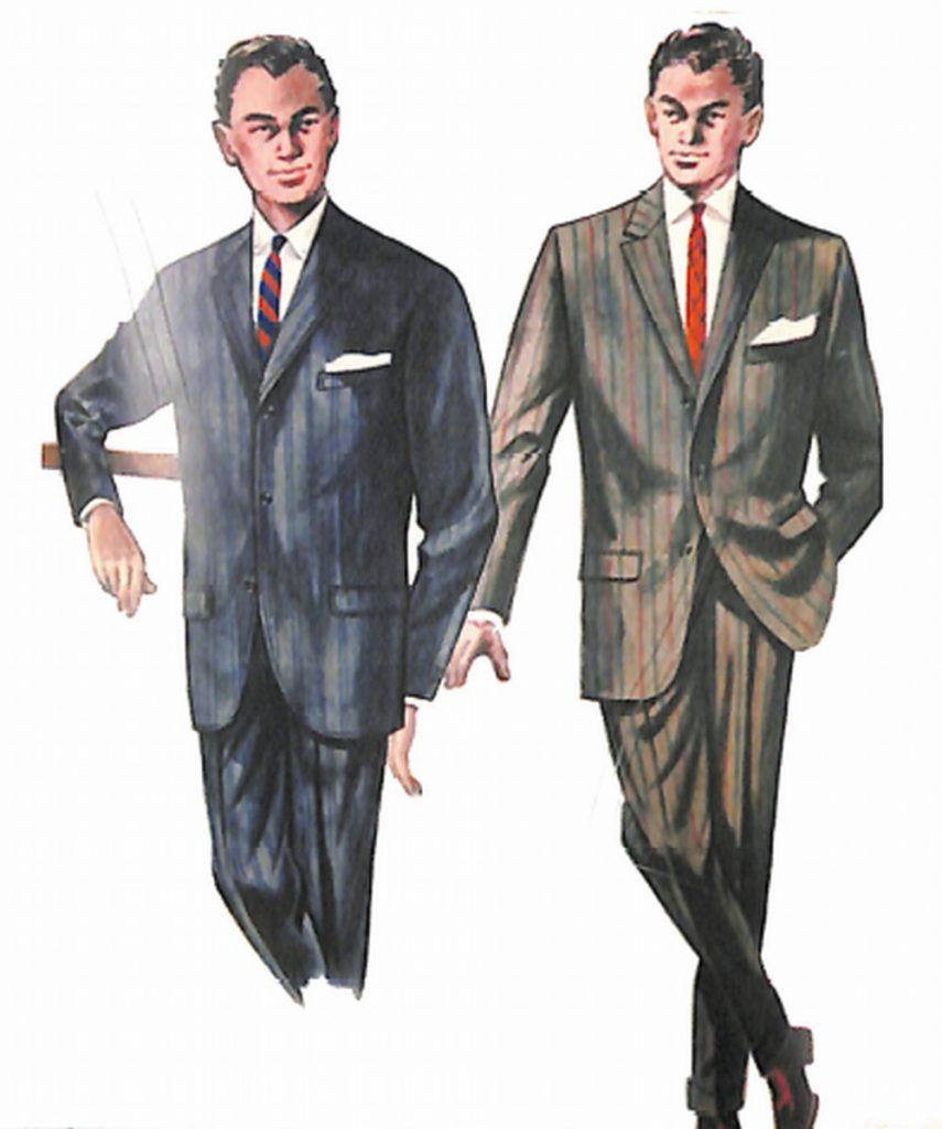 50〜60年代に流行したスーツ・スタイル:63年秋のアメリカンスーツ