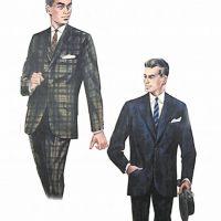 50〜60年代に流行したスーツ・スタイル:63年秋のブリティッシュスーツ2体