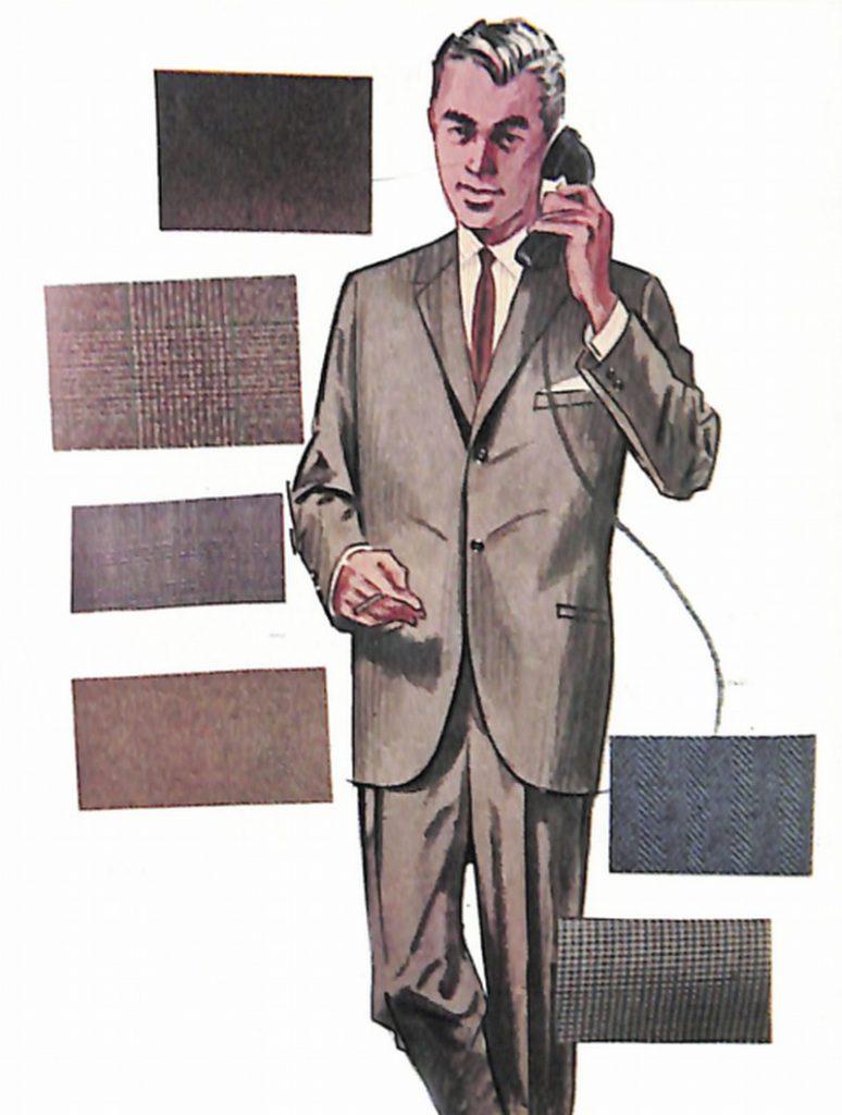 50〜60年代に流行したスーツ・スタイル:アメリカン・コンチネンタルの人気