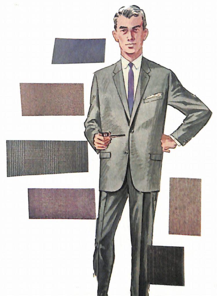50〜60年代に流行したスーツ・スタイル:アメリカン・ナチュラルの進化系スーツ
