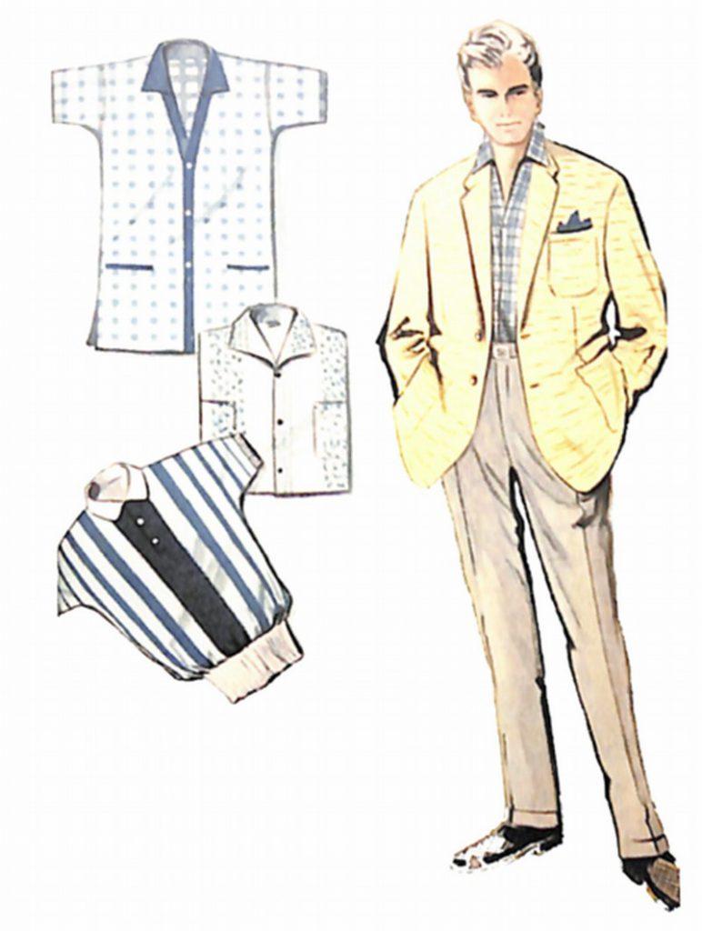 50〜60年代に流行したジャケット・スタイル:クリーム色のサマージャケット