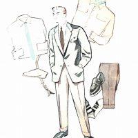 50〜60年代に流行したジャケット・スタイル:ツイードジャケットとアクセサリー