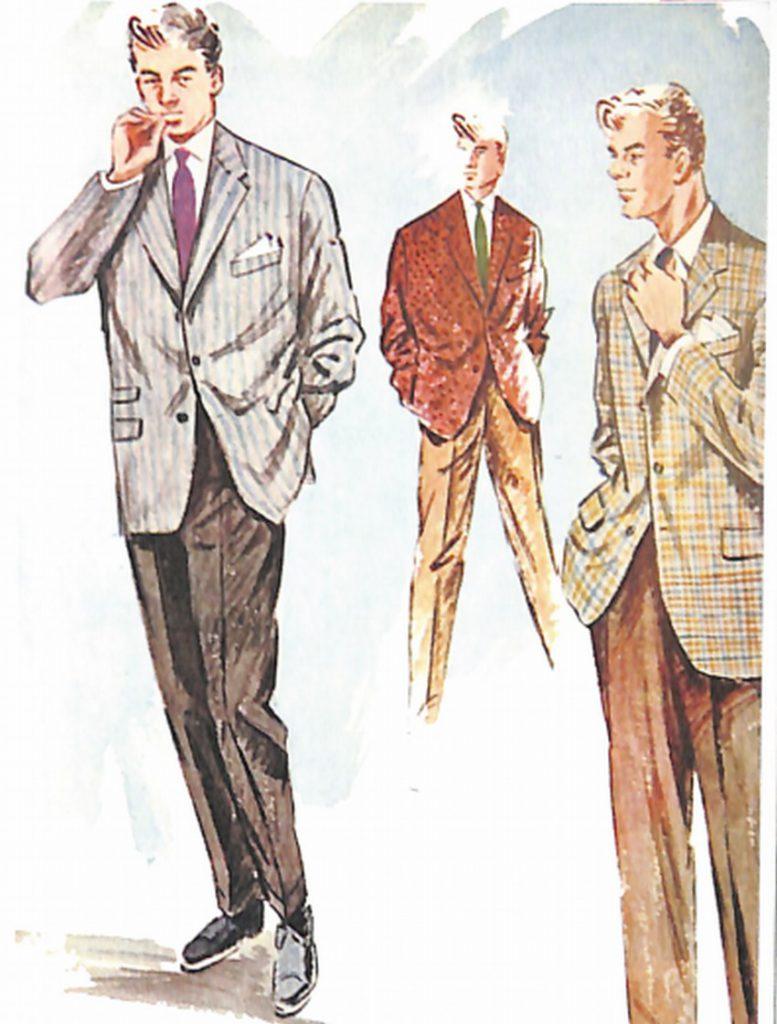 50〜60年代に流行したジャケット・スタイル:パターンド・ジャケットの着こなし