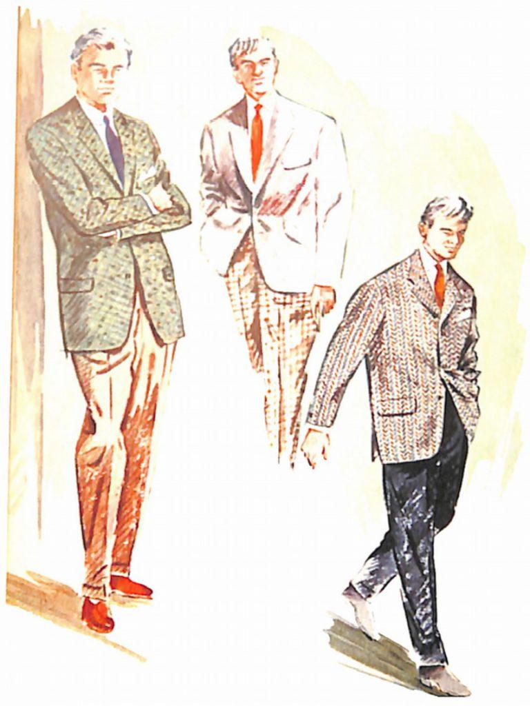 50〜60年代に流行したジャケット・スタイル:セパレーツスタイル3着