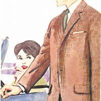 50〜60年代に流行したジャケット・スタイル:アメリカン・コンチネンタル型のジャケット