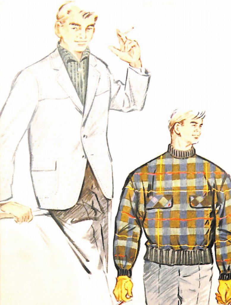 50〜60年代に流行したジャケット・スタイル:60年冬のスポーツジャケット