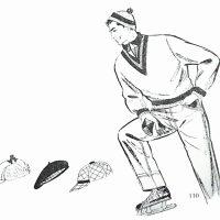 50〜60年代に流行したニット&シャツ・スタイル:スケート用のテニスセーター