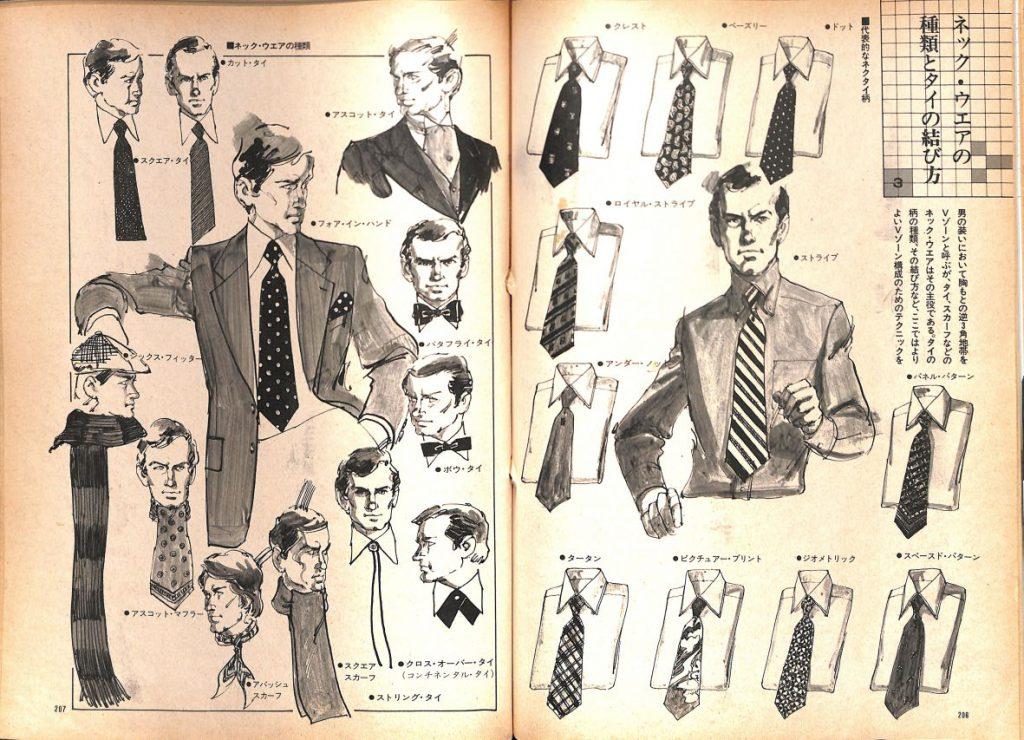 ネック・ウエアの種類と結び方:メンズモード事典 男の身だしなみ百科