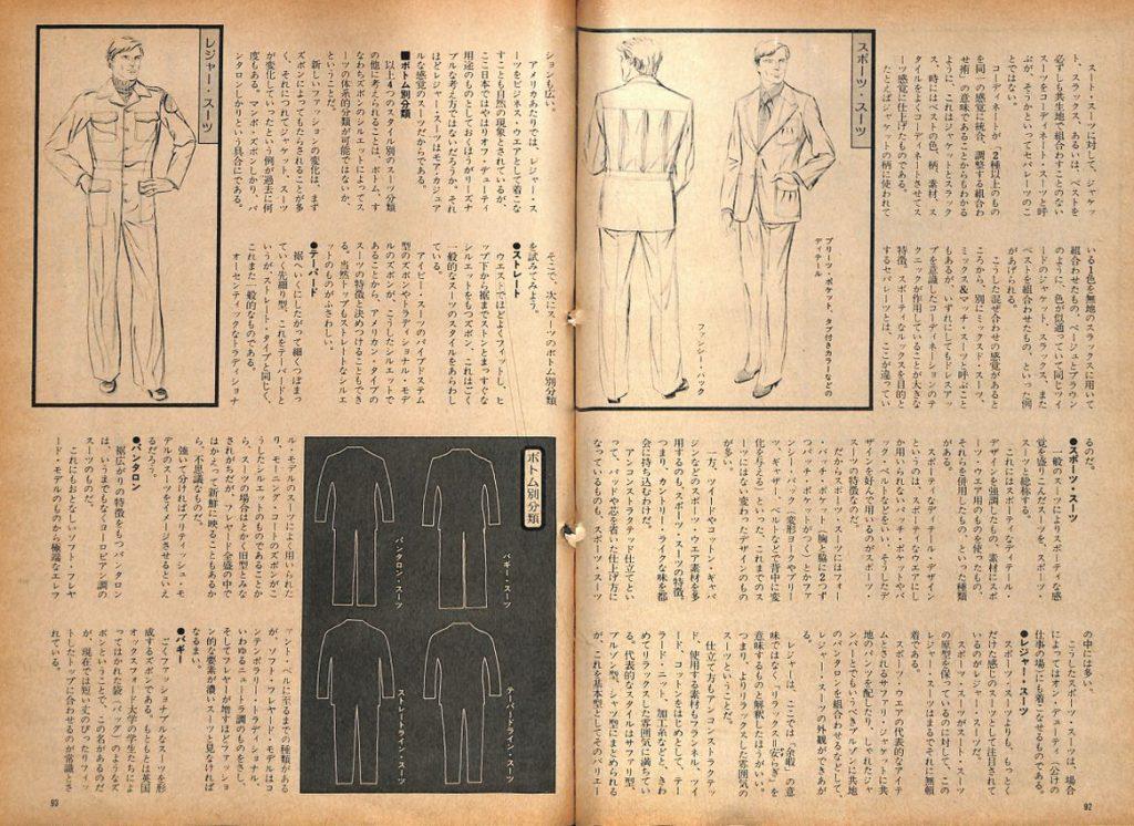 配色と着こなし演出術「スーツの体系的分類」:メンズモード事典 男の身だしなみ百科