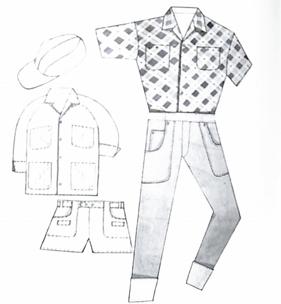50〜60年代に着こなしスタイル:デニムルックの着こなし