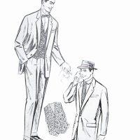 50〜60年代に着こなしスタイル:冬のサラリーマン・ウエア