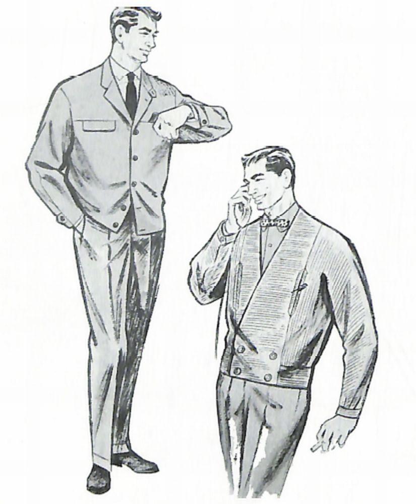 50〜60年代に着こなしスタイル:オフィスルックとしてのジャンパー