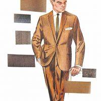 50〜60年代に流行したスーツ・スタイル:コンポラ・スーツの最新型