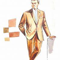 50〜60年代に流行したスーツ・スタイル:クレートーンのタウンスーツ