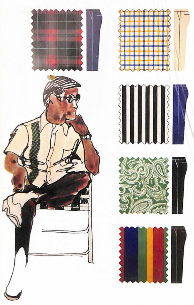 50〜60年代に流行したニット&シャツ・スタイル:スポーツ・シャツの配色
