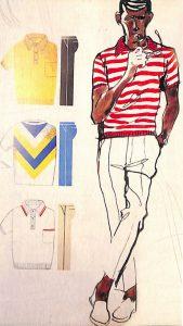 50〜60年代に流行したニット&シャツ・スタイル:ニット・シャツの配色