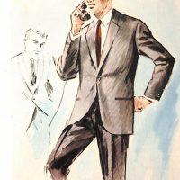 50〜60年代に流行したスーツ・スタイル:1965年のコンポラ・スーツ