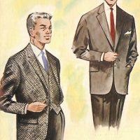 50〜60年代に流行したスーツ・スタイル:スタイル:コーディネーツ2着
