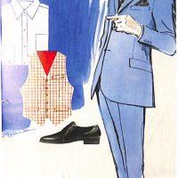 50〜60年代に流行したスーツ・スタイル:ブルニートと呼ばれるブルースツ