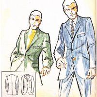 50〜60年代に流行したスーツ・スタイル:リニュー・フルーレと呼ばれるスーツ