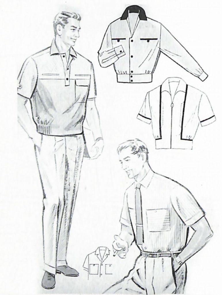 50〜60年代に流行したニット&シャツ・スタイル:56年夏のサマーシャツ