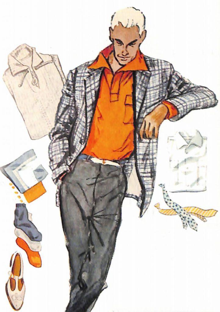 50〜60年代に着こなしスタイル:オッドジャケットで洒落る
