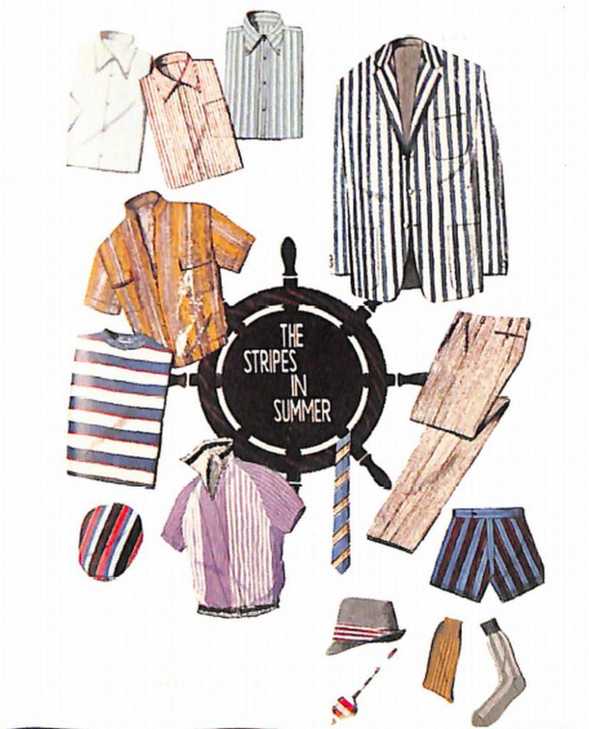 50〜60年代に着こなしスタイル:1963年のリゾートウエア
